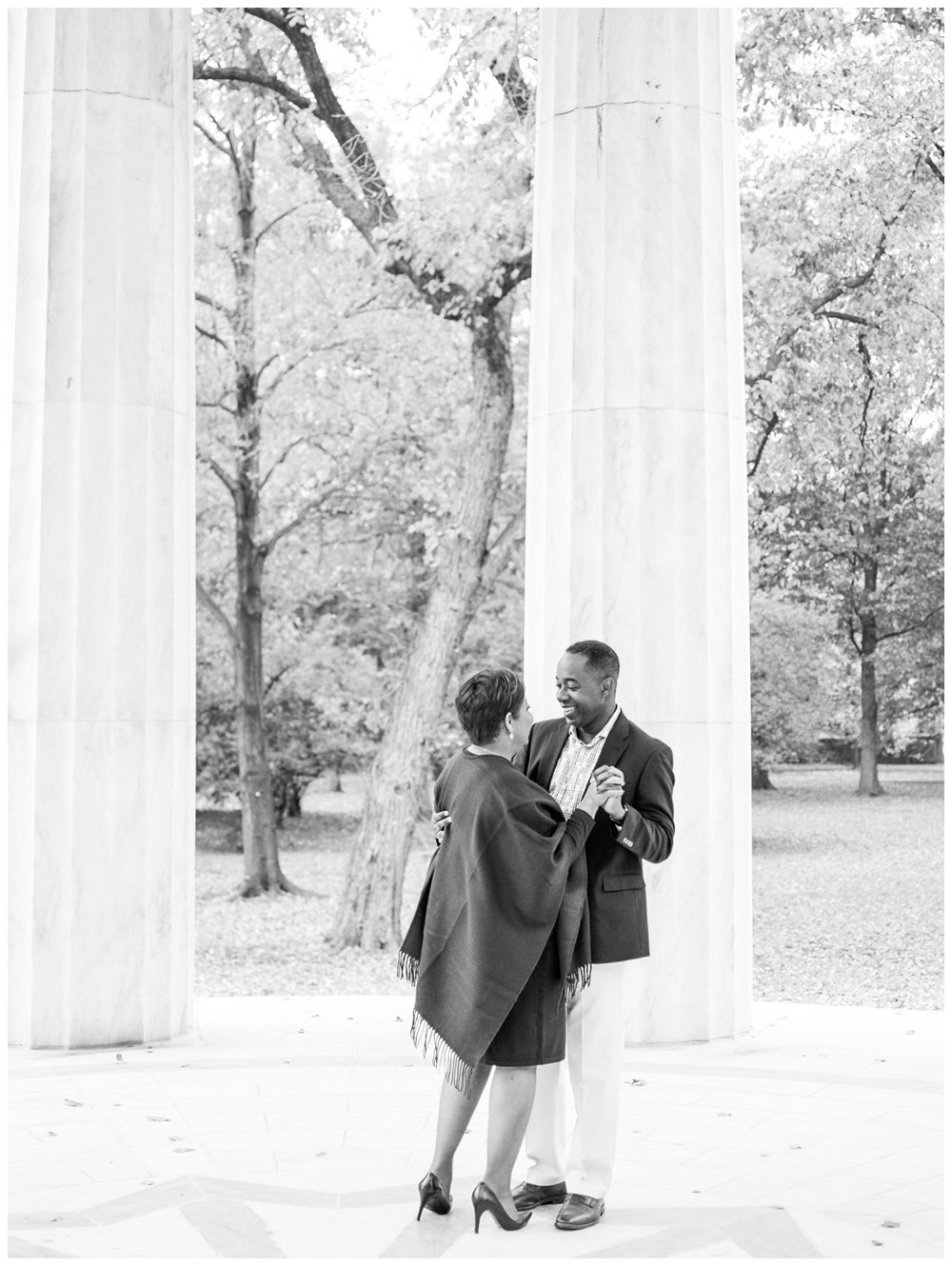 fall washington dc engagement session by fine art film wedding photographer Lissa Ryan Photography