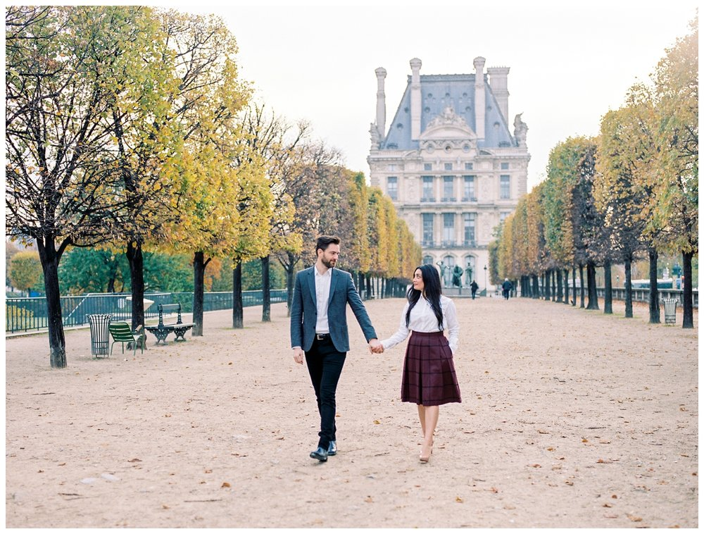 honeymoon anniversary engagement sunrise session in Paris France by fine art wedding photographer Lissa Ryan Photography