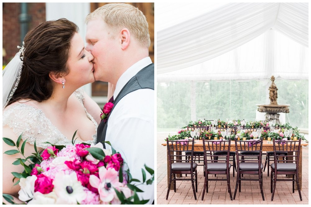beautiful pink wedding at oxen hill manor maryland by fine art wedding photographer lissa ryan photography