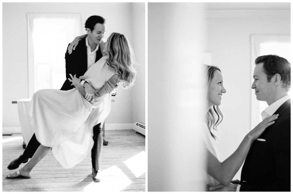 intimate at-home wedding from loom curated in the catskills new york by fine art photographer lissa ryan photography