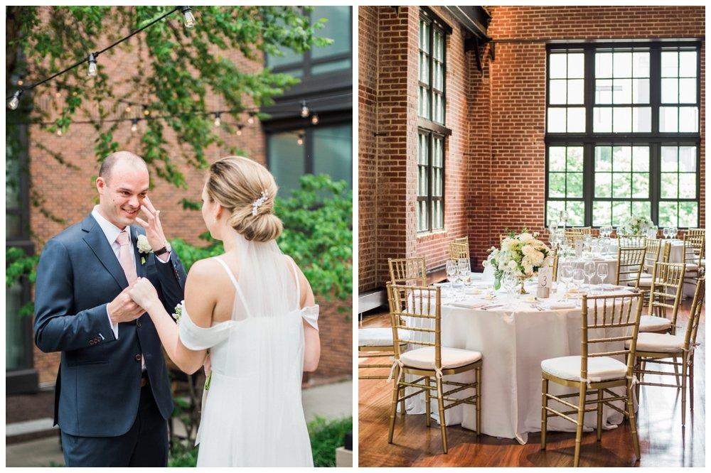 Summer brunch wedding at the Ritz-Carlton Hotel in Georgetown Washington DC by fine art wedding photographer Lissa Ryan Photography