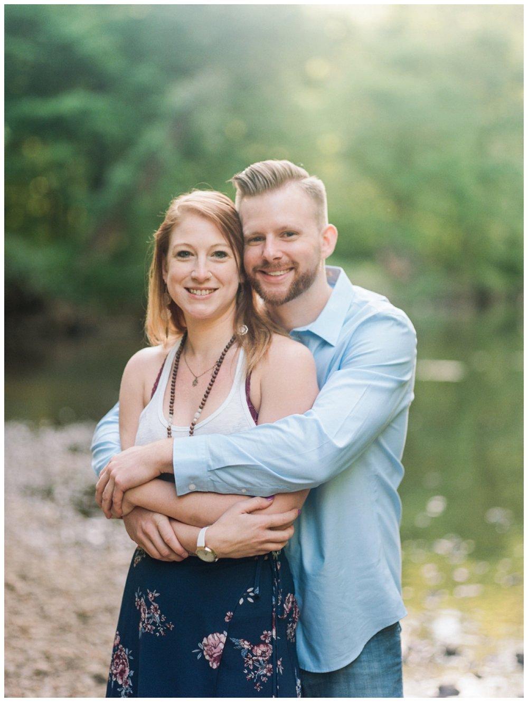 riverside sunrise couple's session in washington dc by fine art wedding photographer Lissa Ryan Photography