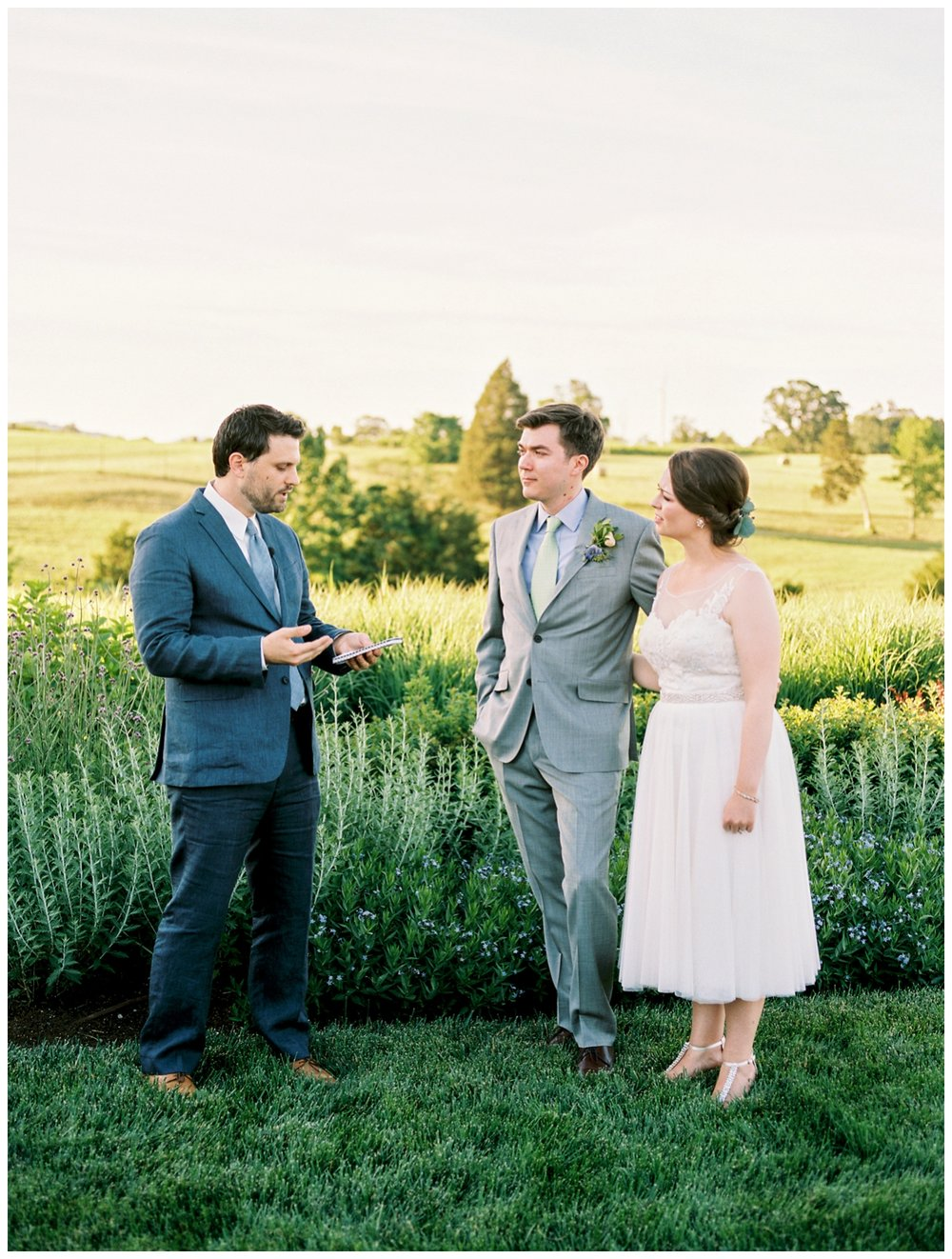 Summer wedding at Early Mountain Vineyard in Charlottesville Virginia by fine art wedding photographer Lissa Ryan Photography