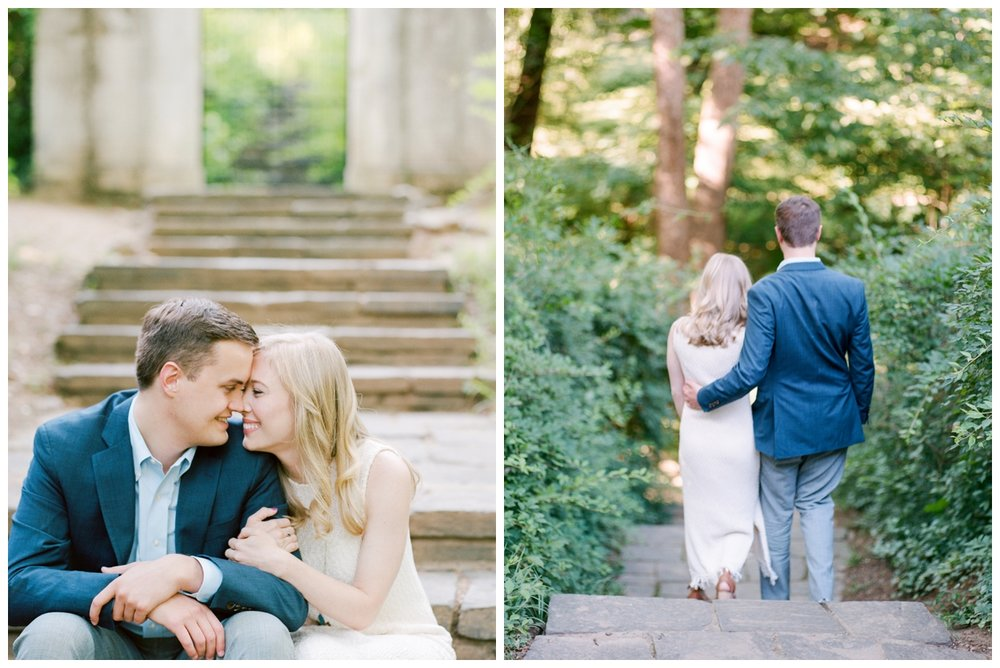Summer sunset engagement session in Georgetown, Washington DC by fine art photographer Lissa Ryan Photography