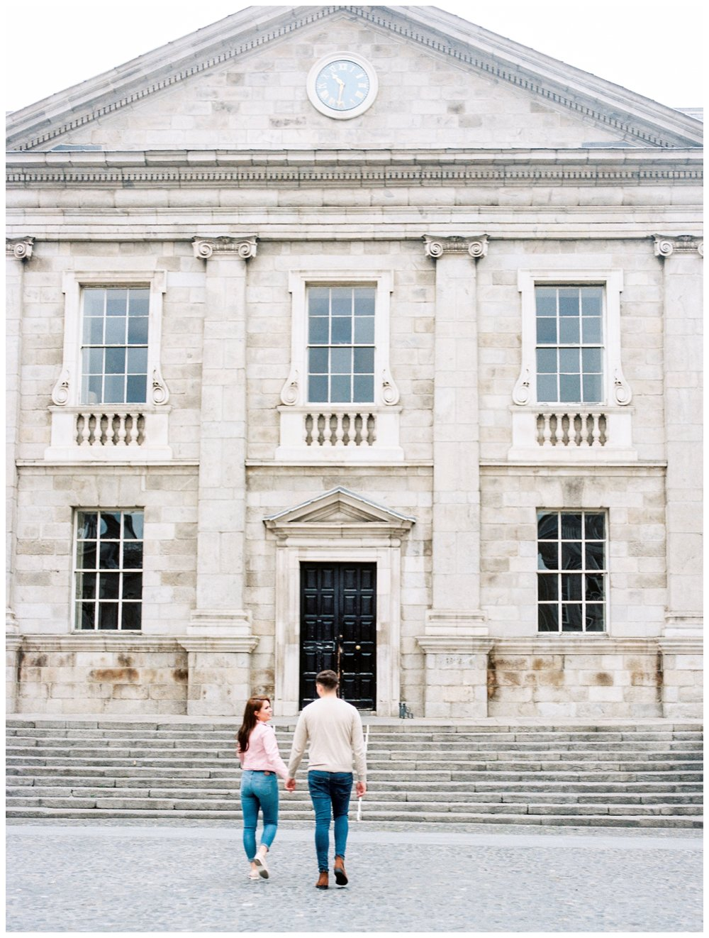 couple's anniversary photo session in Dublin Ireland on film by fine art photographer Lissa Ryan Photography