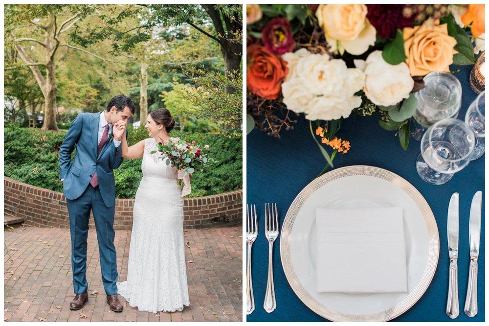 Fall Dumbarton House Wedding by fine art wedding photographer Lissa Ryan Photography