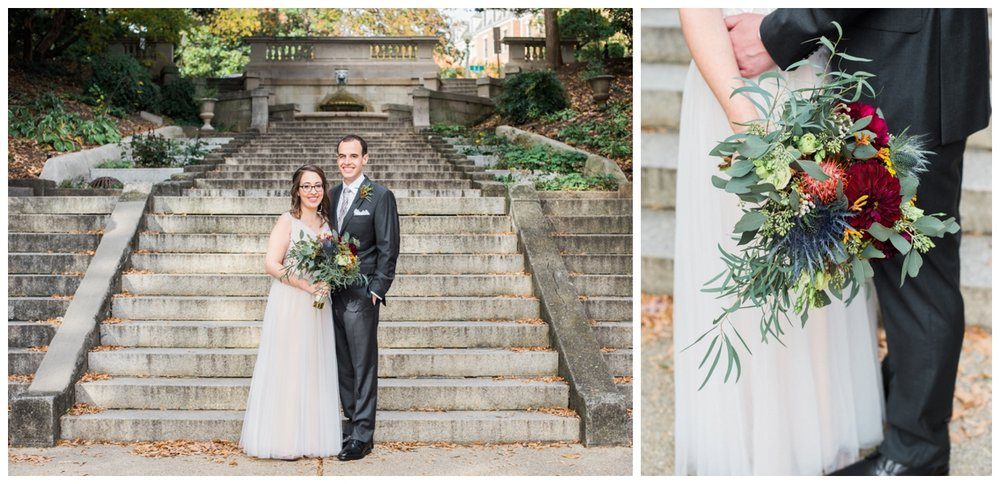 fall wedding at the whittemore house in washington dc by fine art wedding photographer Lissa Ryan Photography