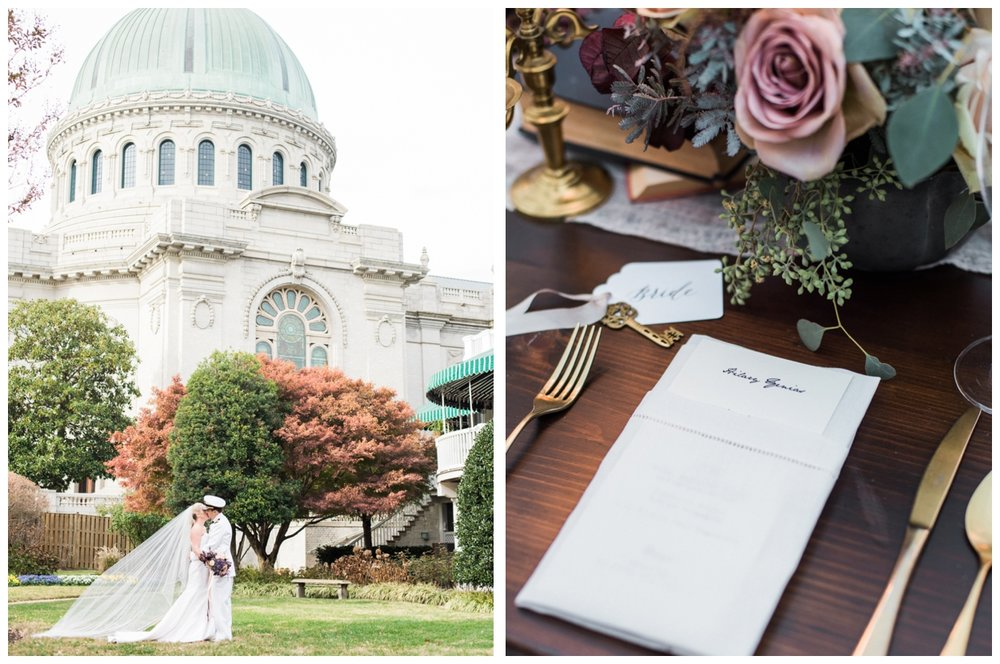 Fall US Naval Academy wedding with sword arch in Annapolis with a reception at Hemlock Farm by fine art wedding photographer Lissa Ryan Photography