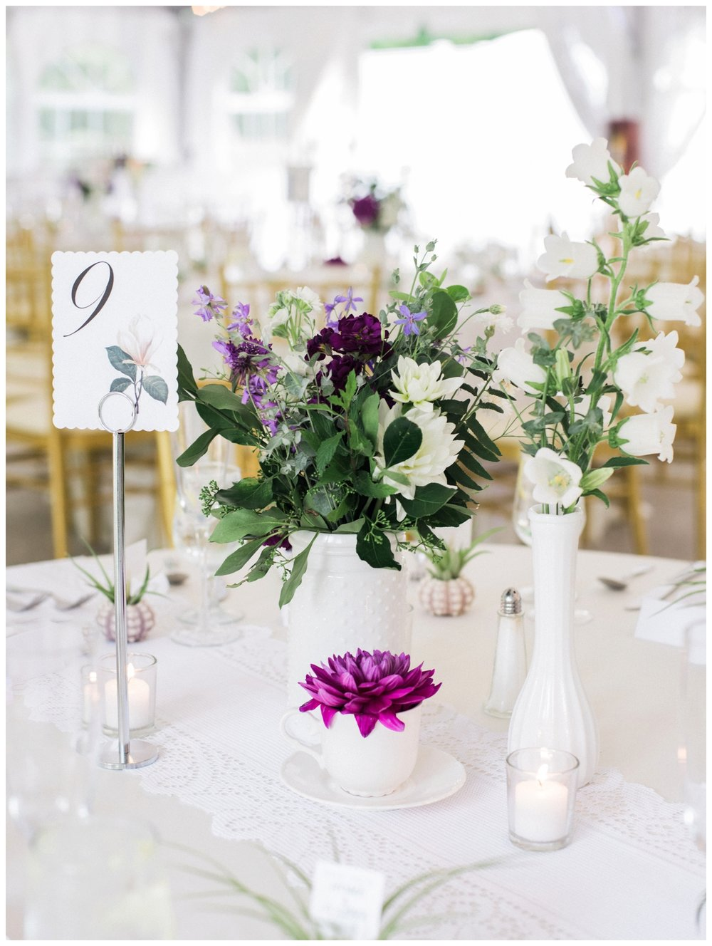 Purple summer wedding at Rust Manor House in Leesburg, Virginia by fine art wedding photographer Lissa Ryan Photography