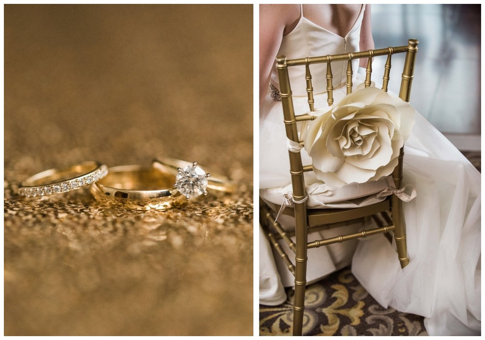 blush and gold summer wedding at the Army Navy Club in Washington DC by fine art wedding photographer Lissa Ryan Photography