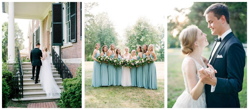 Summer wedding at Woodlawn & Pope-Leighey House in Alexandria Virginia by fine art wedding photographer Lissa Ryan Photography