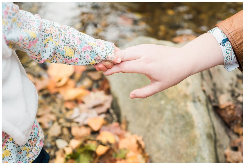 Fall family session in Washington DC by fine art photographer Lissa Ryan Photography