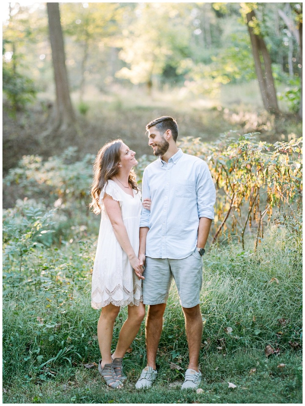 Fall engagement session in Rock Creek Park by fine art wedding photographer Lissa Ryan Photography