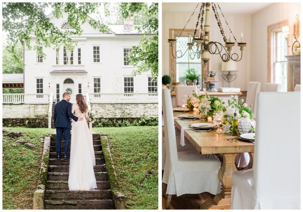 spring wedding at the Retreat at cool spring in Bluemont Virginia by Washington DC fine art wedding photographer Lissa Ryan Photography