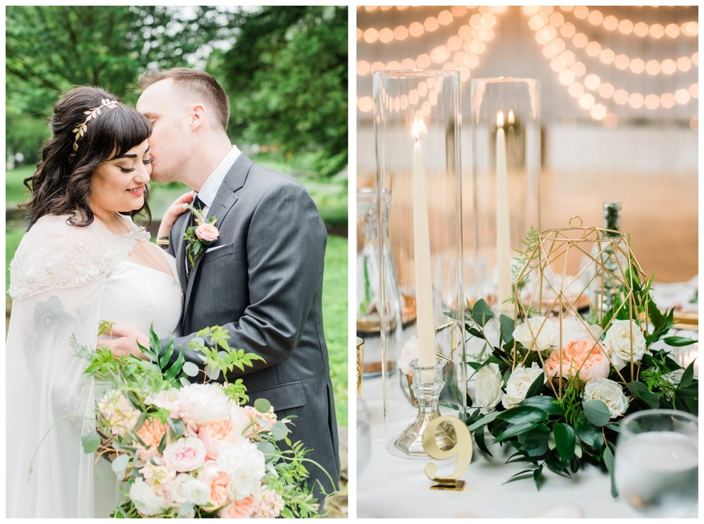 Spring wedding at The Accelerator Space in Baltimore Maryland by Washington DC fine art wedding photographer Lissa Ryan Photography