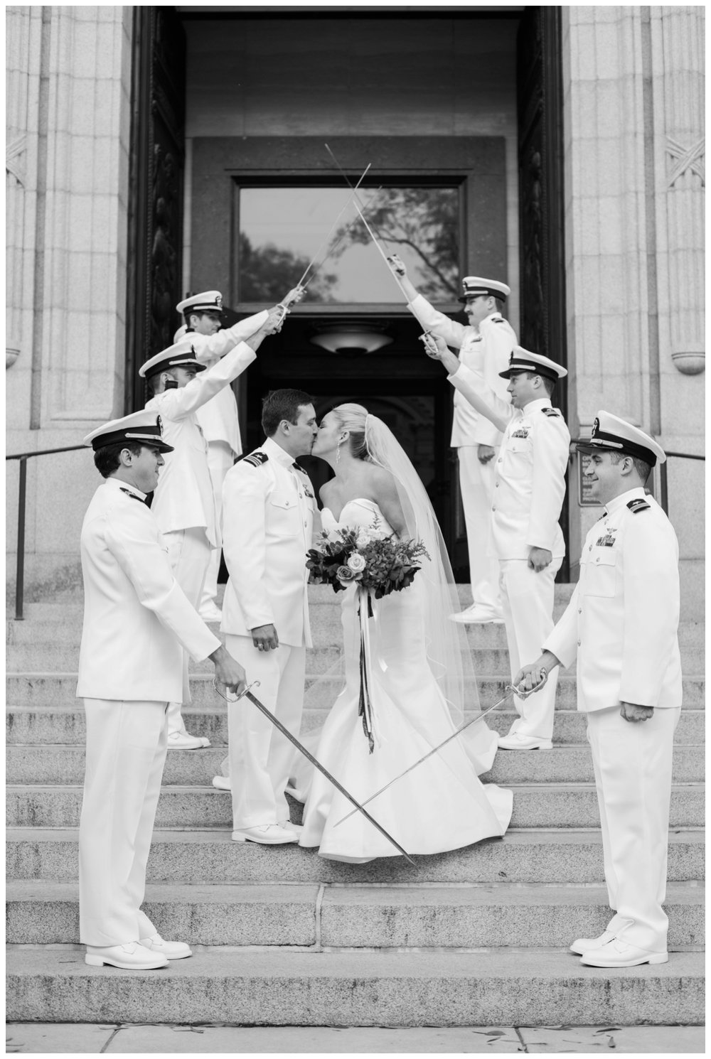 Fall military US Naval Academy and Hemlock Farm wedding in Annapolis Maryland by fine art Washington DC wedding photographer Lissa Ryan Photography