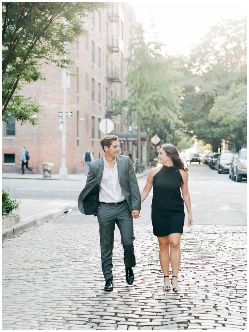Fall engagement session in New York City by fine art wedding photographer Lissa Ryan Photography