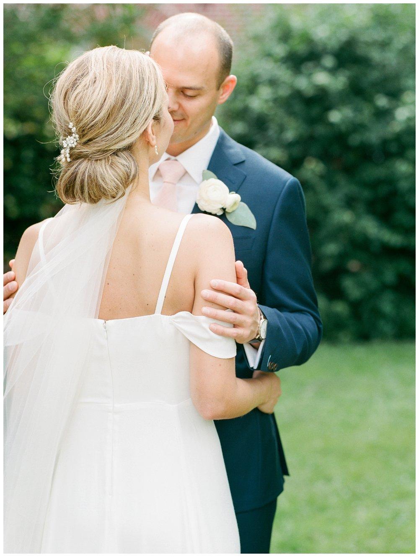 spring blush and white brunch wedding at the Ritz Carlton Georgetown in Washington DC by fine art wedding photographer Lissa Ryan Photography