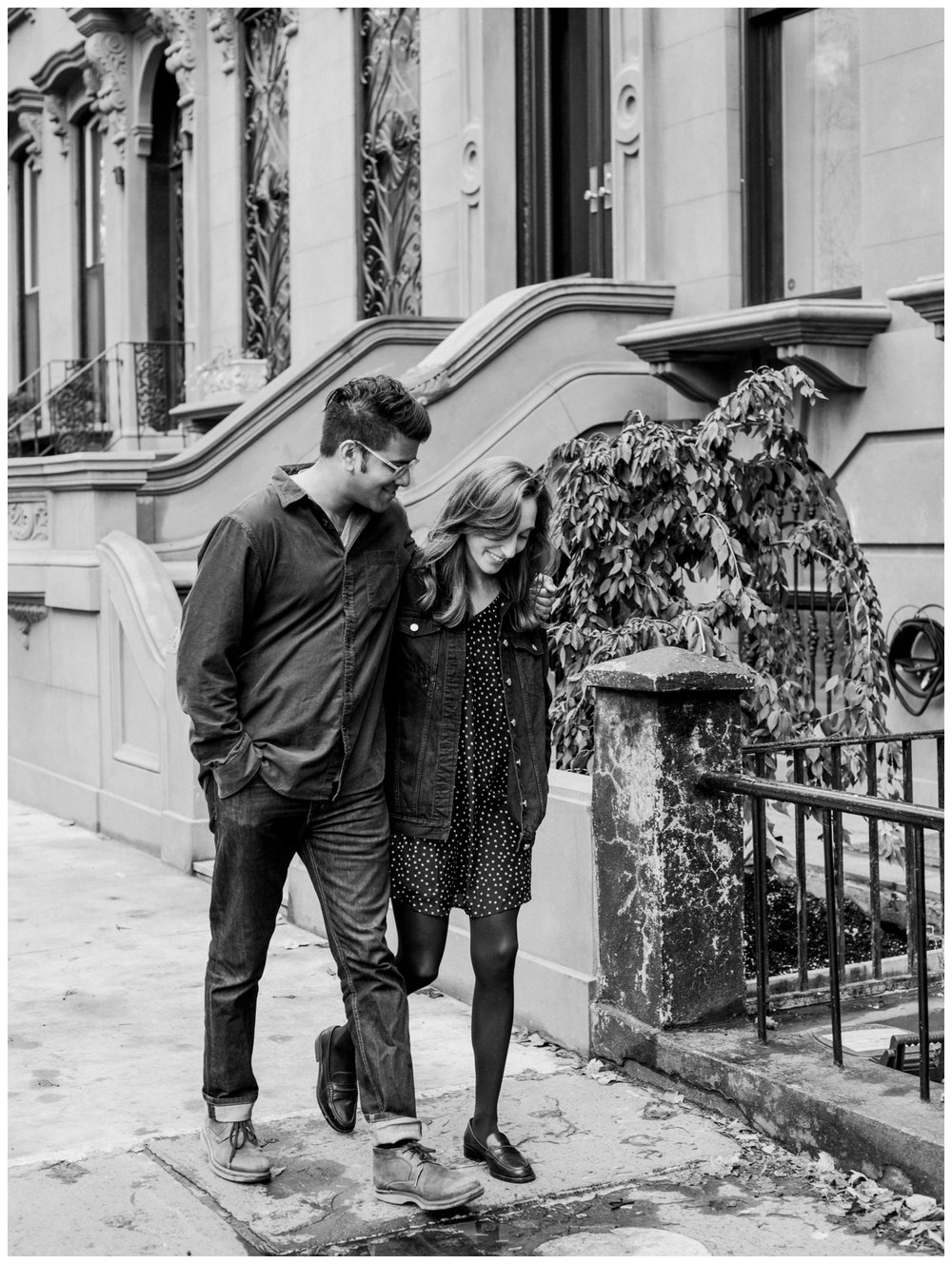fall engagement session in Brooklyn New York by fine art wedding photographer Lissa Ryan Photography