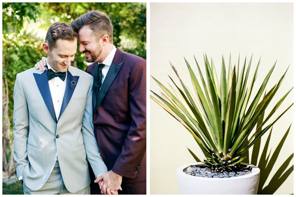 Fall same-sex wedding in Healdsburg, California at Barndiva by fine art wedding photographer Lissa Ryan Photography