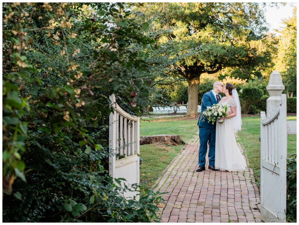 Fall wedding at Woodlawn-Pope Leighey historic house in Alexandria Virginia by fine art wedding photographer Lissa Ryan Photography