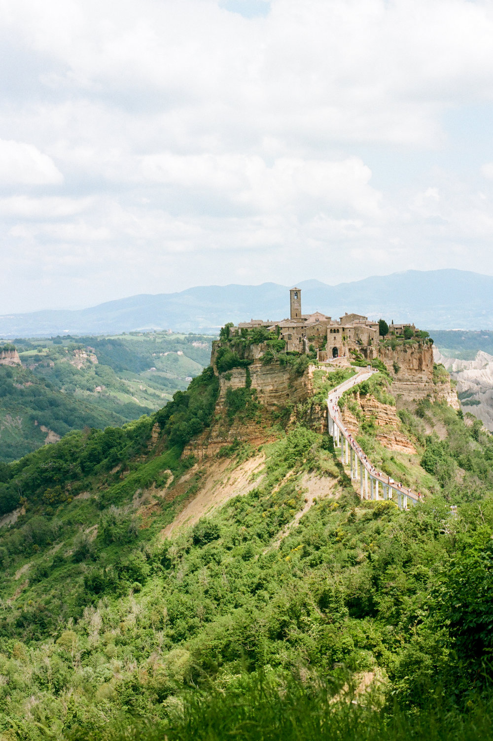 Stunning view of Civita di Bagnoregio in Viterbo Italy by fine art destination photographer Lissa Ryan Photography