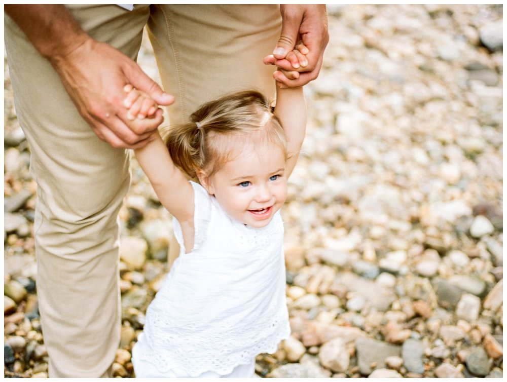 Summer creekside family session in Washington DC by fine art family photographer Lissa Ryan Photography