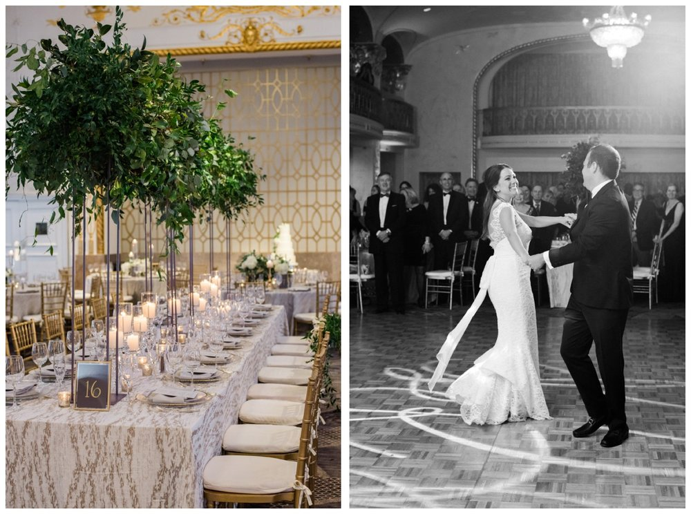 Fall Wedding at the Mayflower Hotel in Washington DC by fine art wedding photographer Lissa Ryan Photography