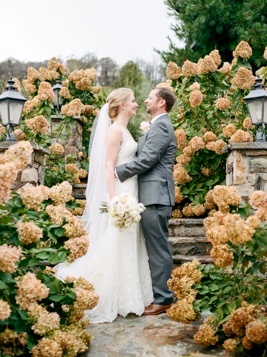 Fall Wedding at Bluemont Vineyard in Bluemont, Virginia by fine art wedding photographer Lissa Ryan Photography