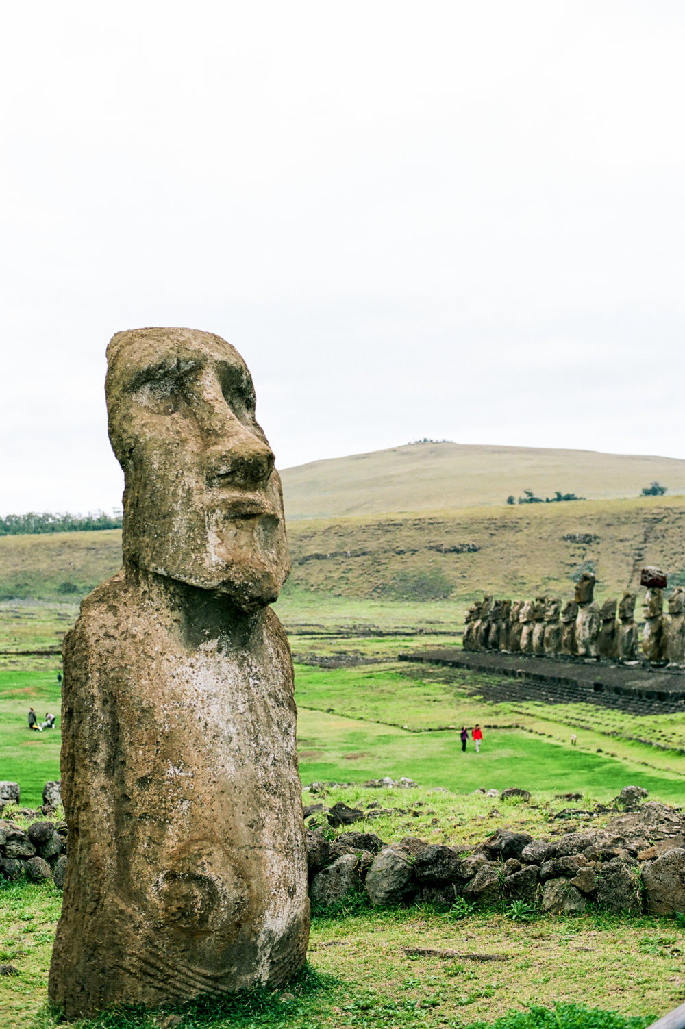 Moai on Easter Island, Chile by fine art destination photographer Lissa Ryan Photography