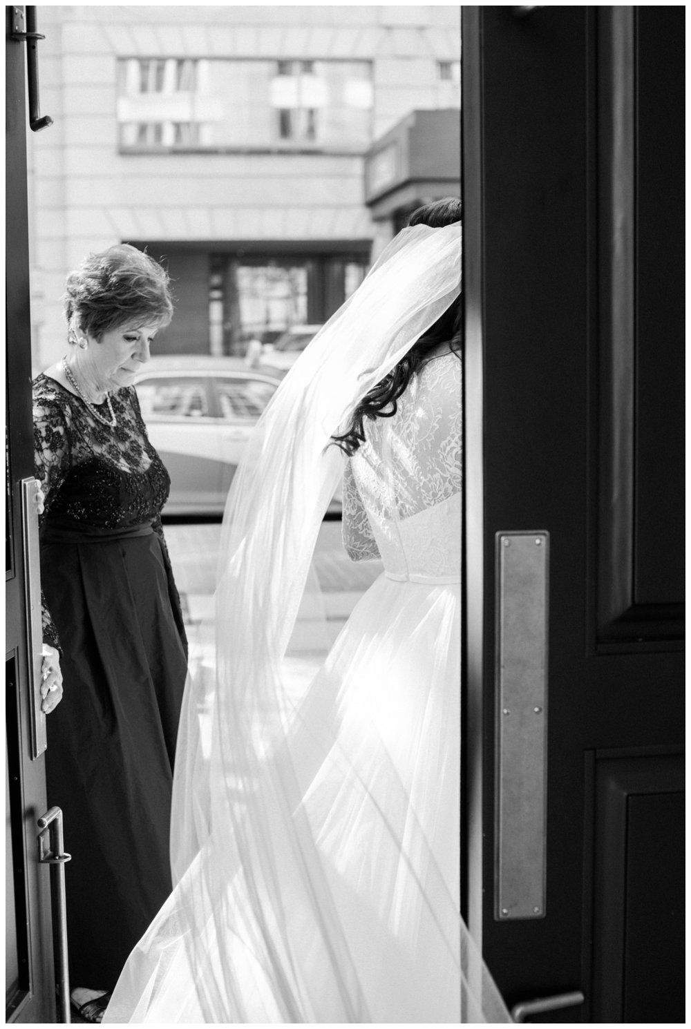 Spring Wedding in Shades of Pink at the Park Hyatt Washington DC by fine art wedding photographer Lissa Ryan Photography bride before first look