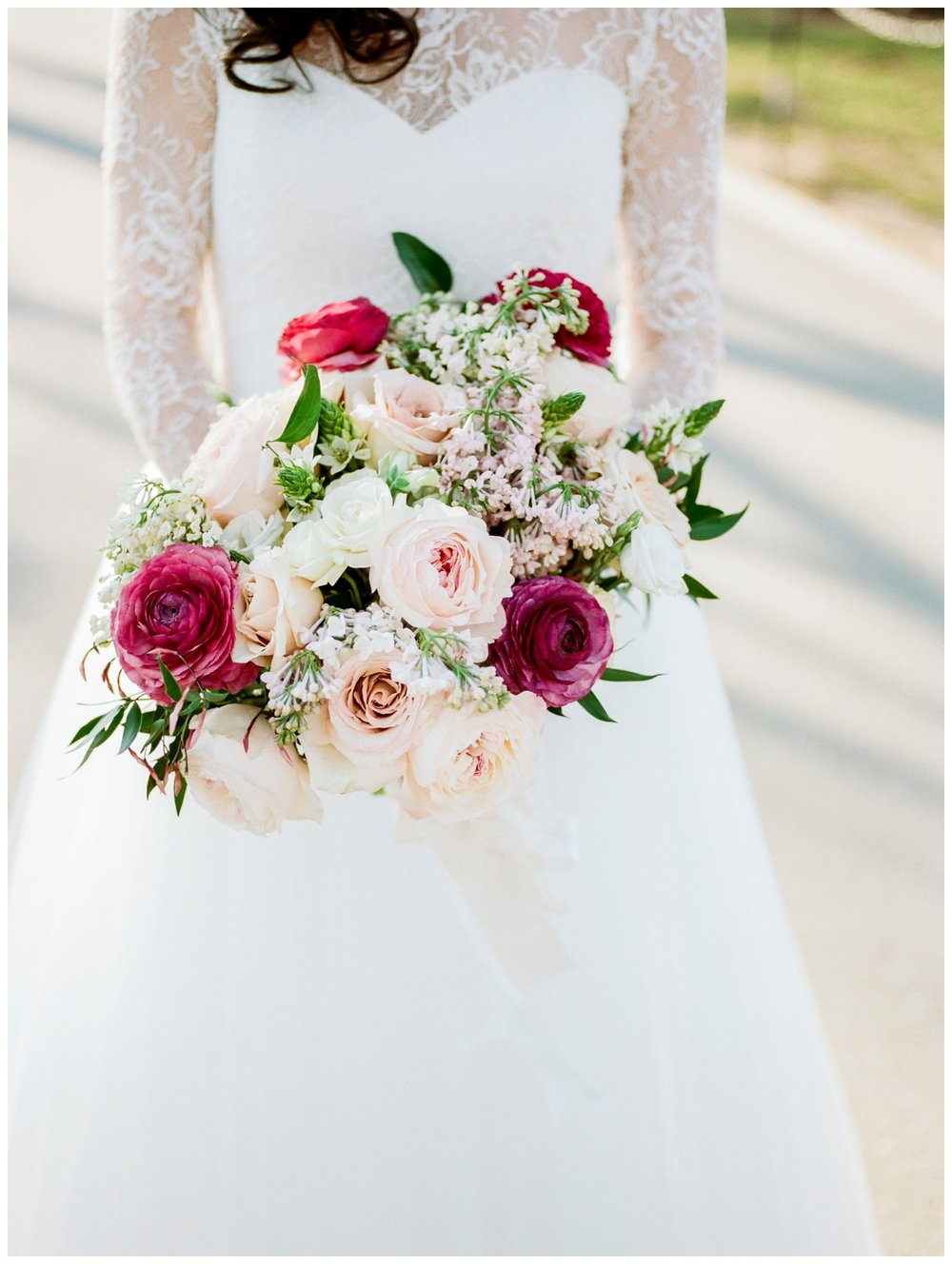 Spring Wedding in Shades of Pink at the Park Hyatt Washington DC by fine art wedding photographer Lissa Ryan Photography bride and groom portrait