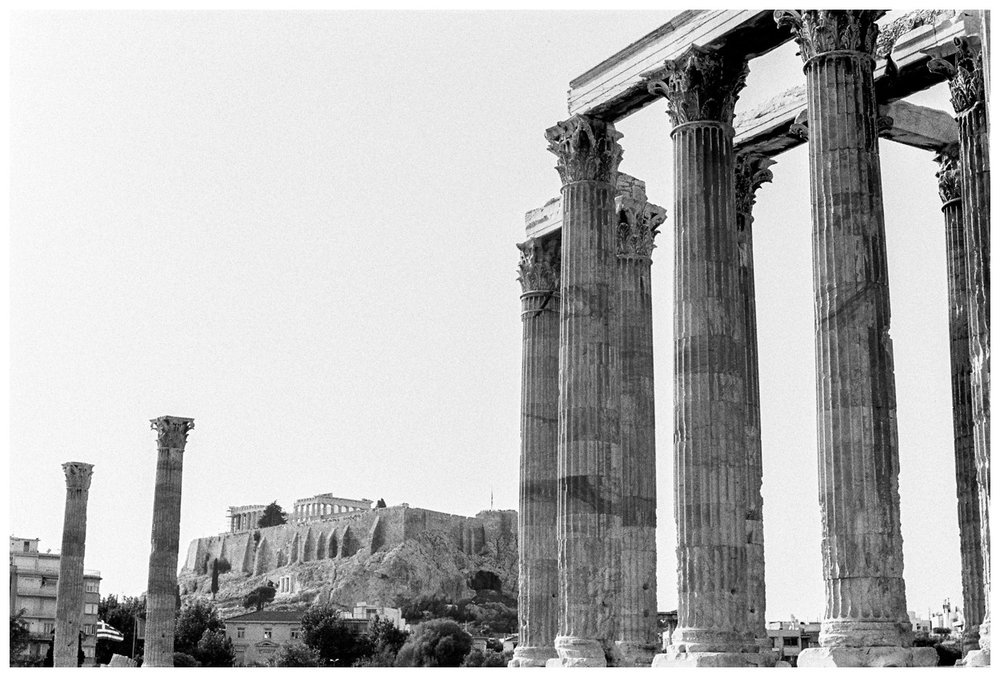 Athens Greece on film by fine art destination photographer Lissa Ryan Photography