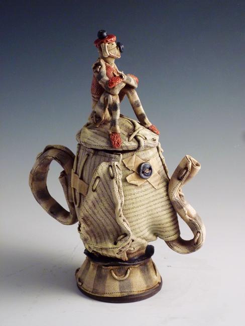 """Elephant Teapot / 14""""H x 8""""W x 5""""D / 2009"""