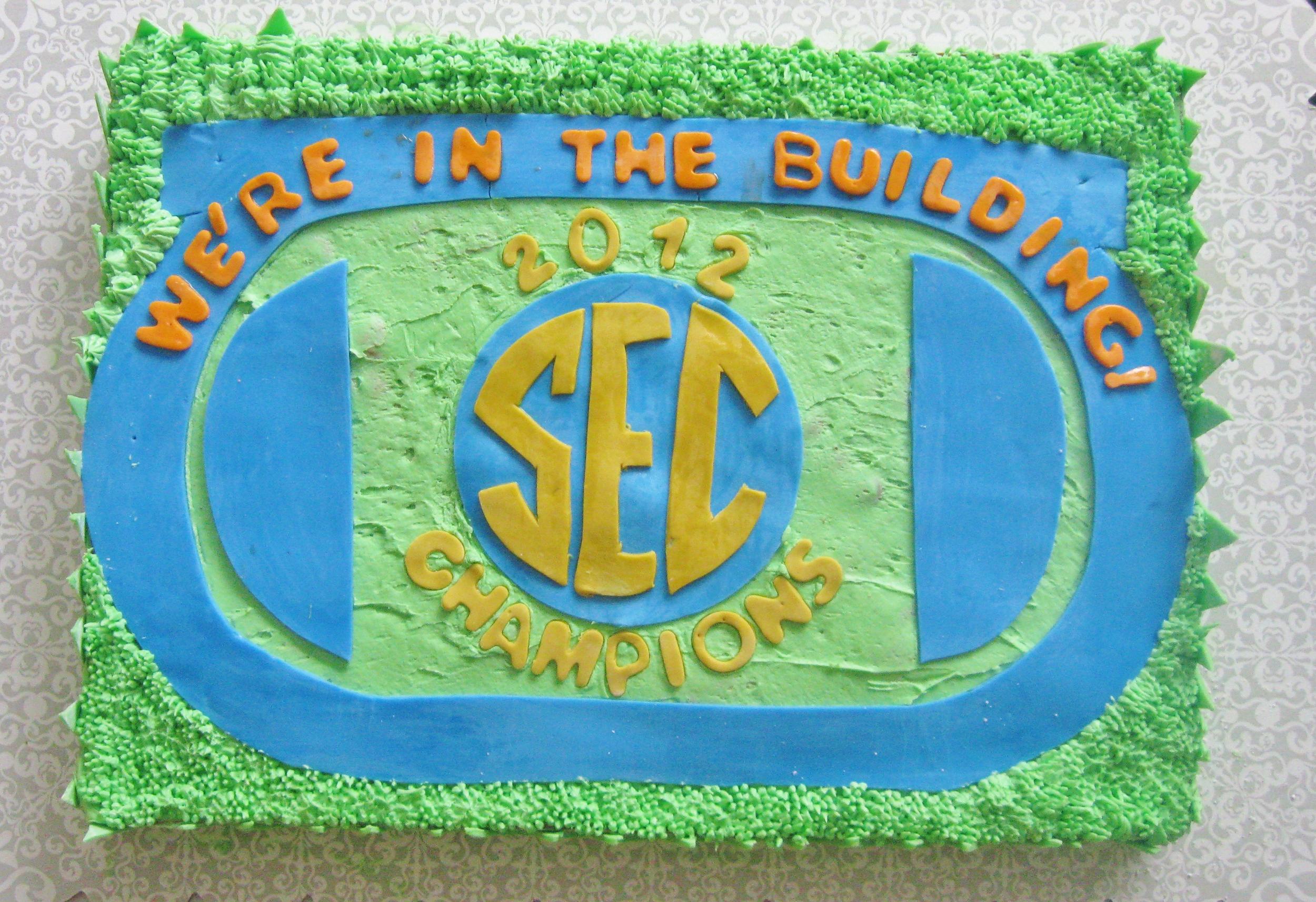SEC Championship Cake