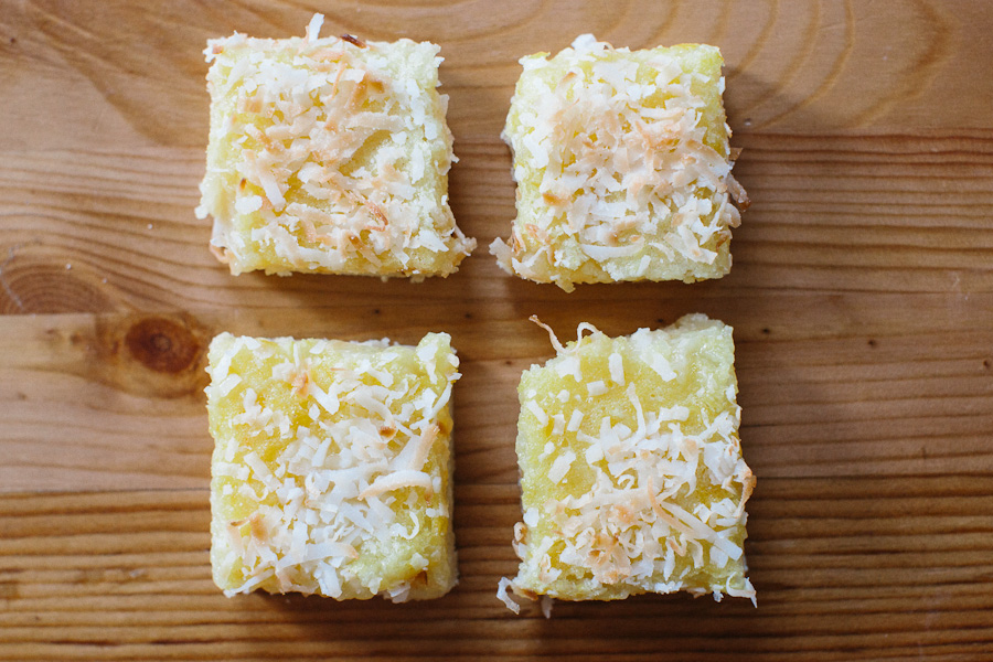 Coconut-Lemon Bars