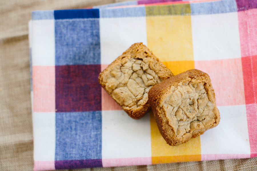 White Chocolate Cookie Butter Blondies // Becca Bakes (www.becca-bakes.com)