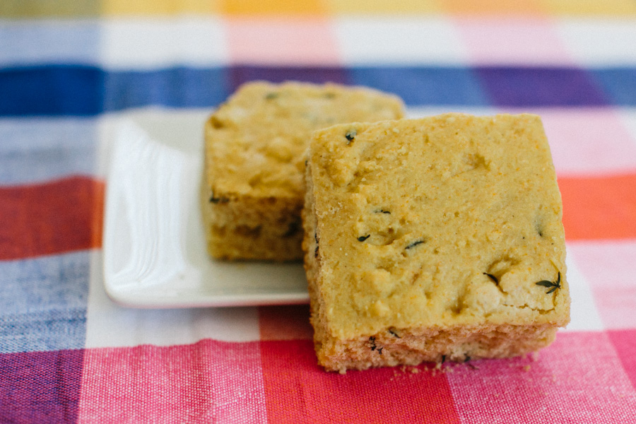 Southern Thyme Cornbread