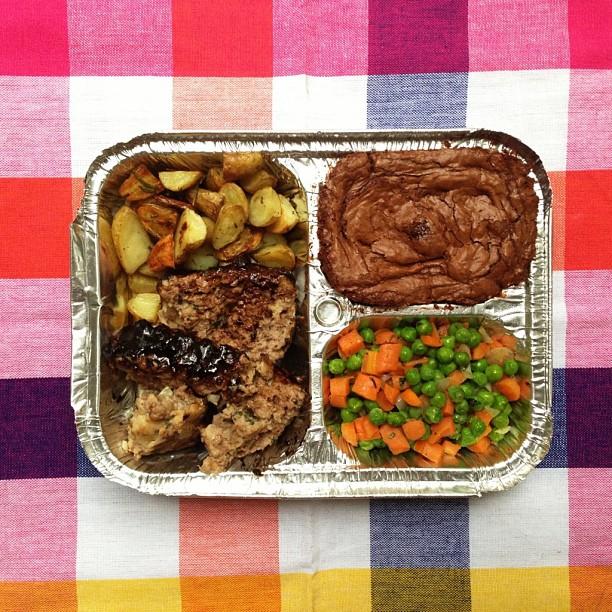 TV Dinner // Becca Bakes (www.becca-bakes.com)