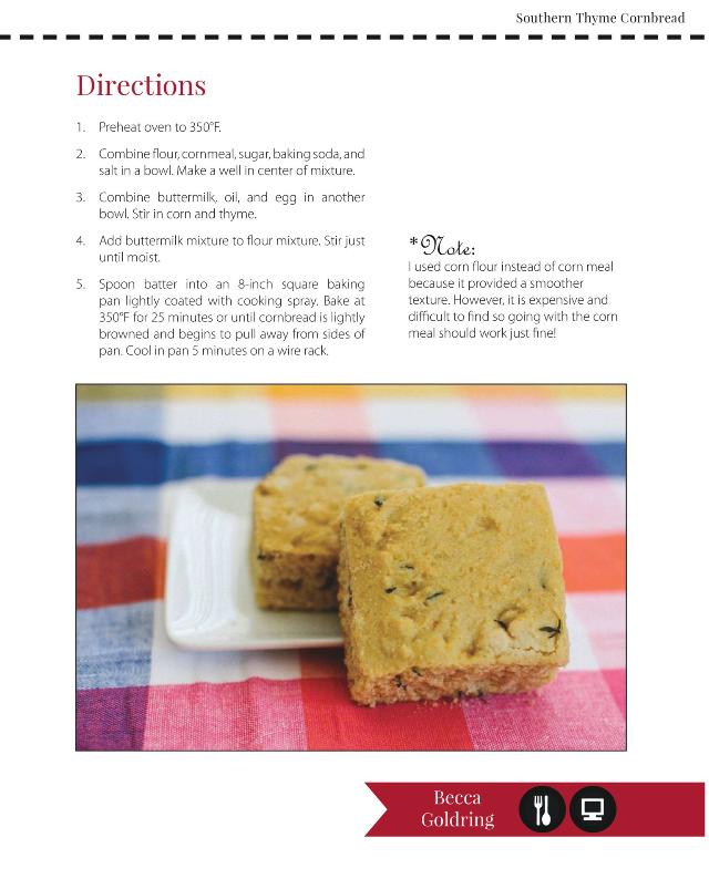 Home Gourmet Magazine // Becca Bakes (www.becca-bakes.com)