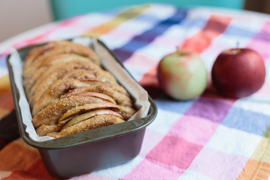 Apple Cinnamon Pull-Apart Bread | Becca Bakes (www.becca-bakes.com)