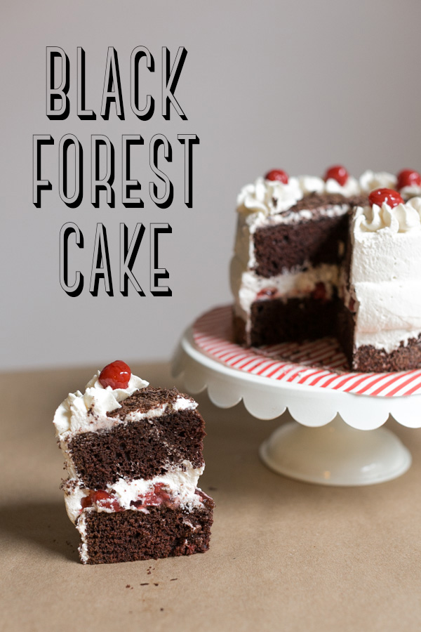 Cake Black Forest The Harvest : Black Forest Cake [+Cupcakes!] Becca Bakes