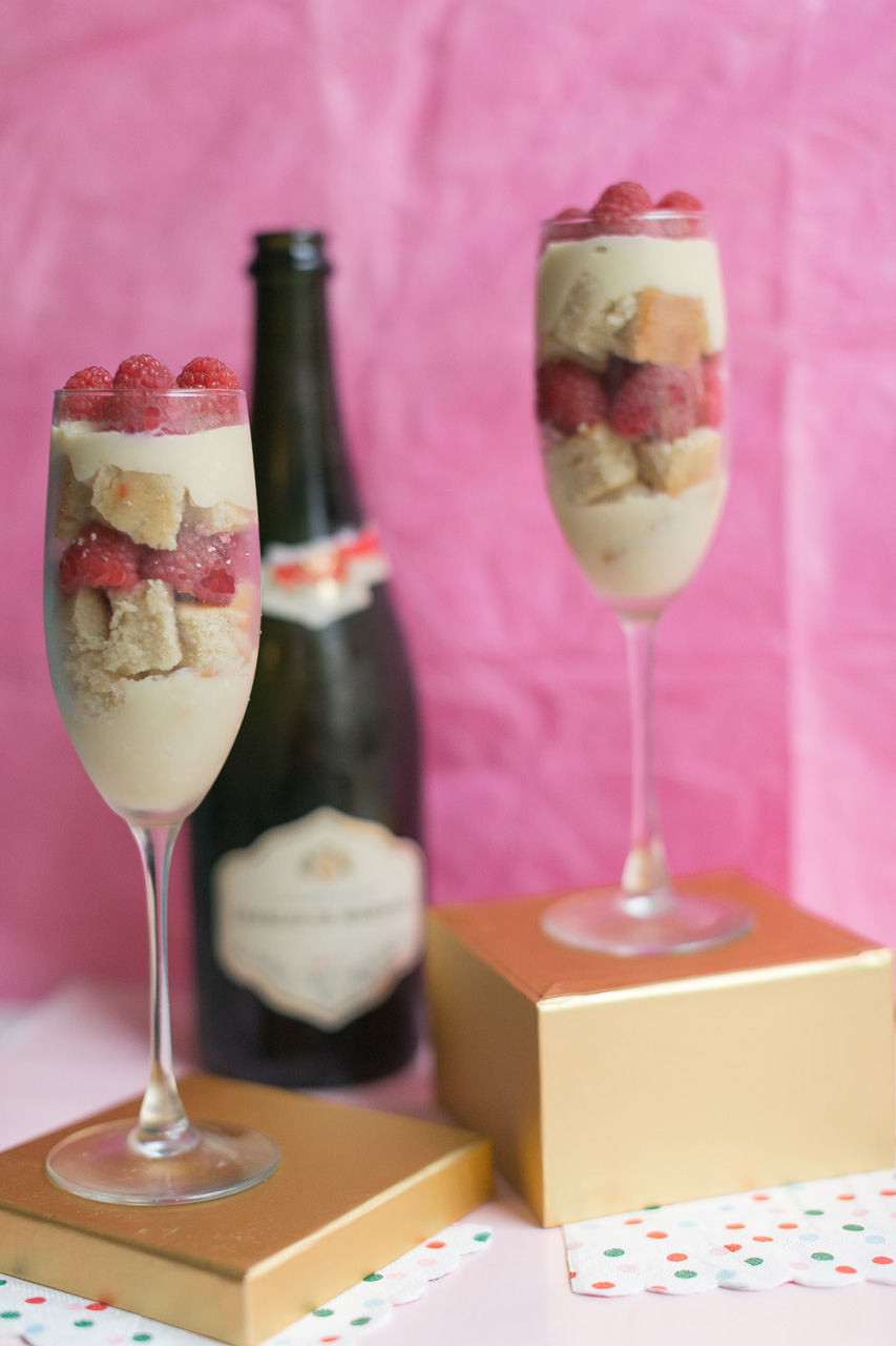 Champagne Custard Trifle | Becca Bakes (www.becca-bakes.com)