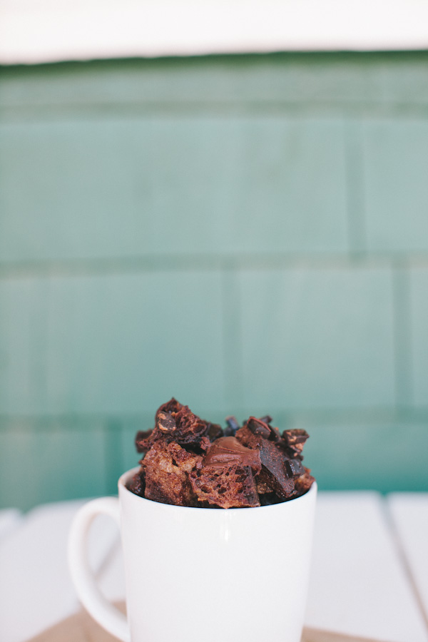 Nutella Bread Pudding | Becca Bakes (www.becca-bakes.com)