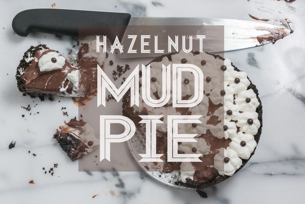 Hazelnut Mud Pie | Becca Bakes (www.becca-bakes.com)