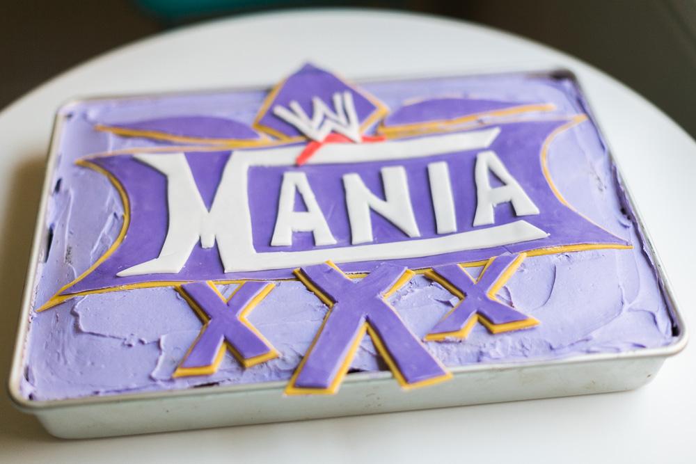 Wrestlemania 30 Cake | Becca Bakes (www.becca-bakes.com)