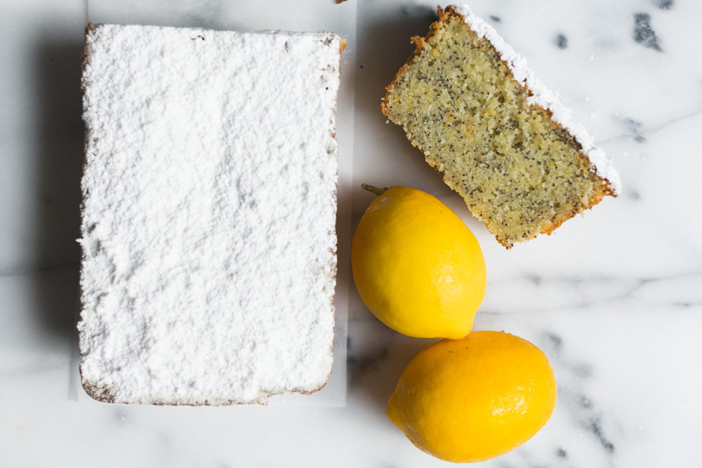 Almond-Lemon Tea Cake | Becca Bakes