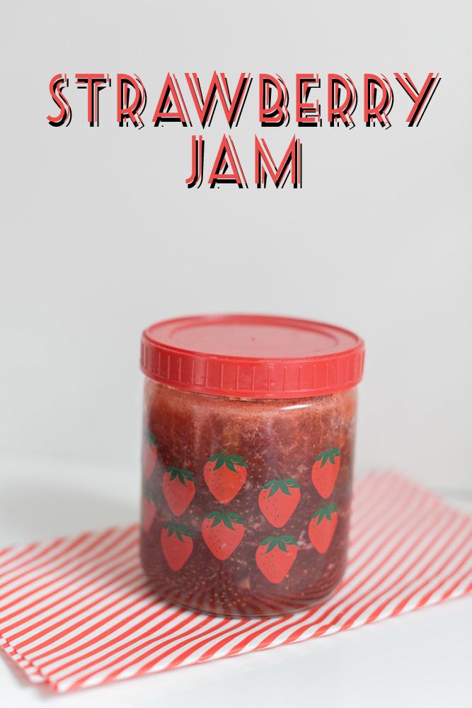 2lb Strawberry Jam | Becca Bakes (www.becca-bakes.com)
