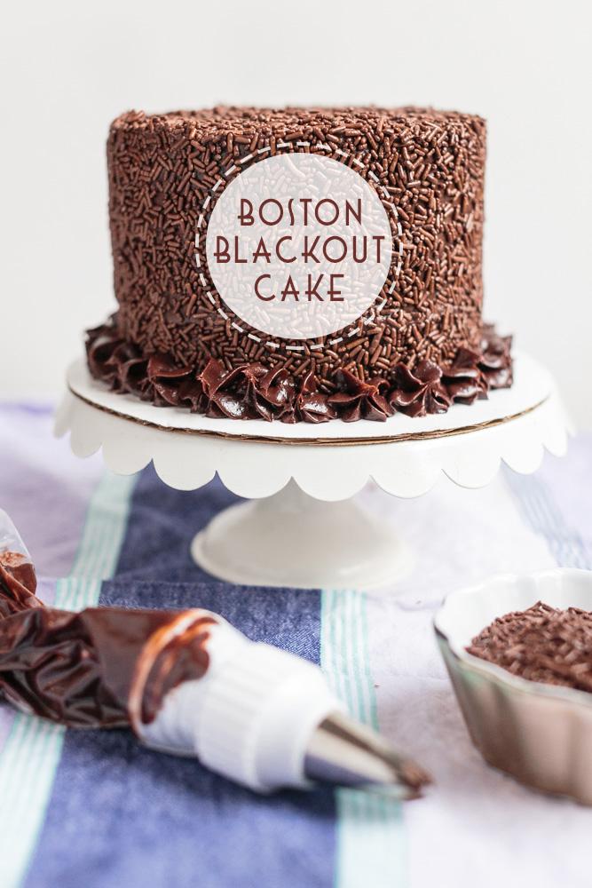Boston Blackout Cake   Becca Bakes (www.becca-bakes.com)