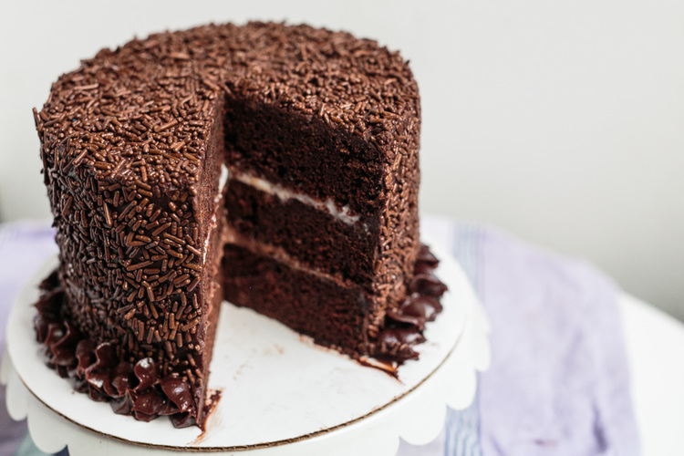 recipe: chocolate pudding filling for cake [18]